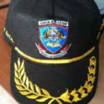 Topi Guru Bahan Laken