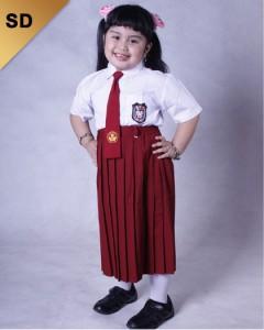 Sergam Sekolah (SD) Putri